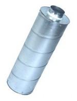 Geluiddemper 125mm