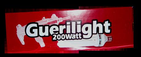 200 watt CFL Guerilght bloei
